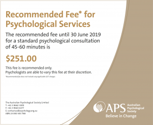recommended-psychologist-fee-2018-2019
