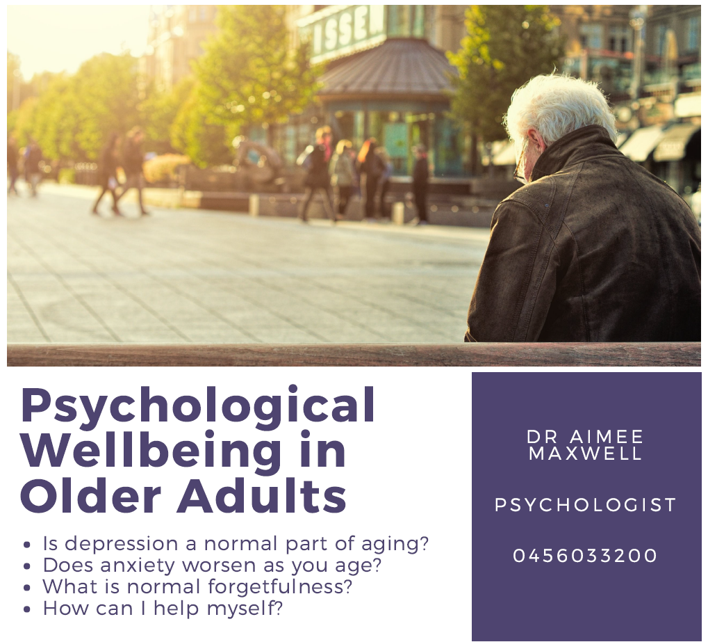 Picture of old man in the sun and description of talk topics for older adults mental health